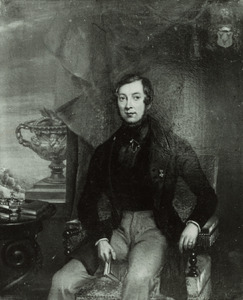 Portret van Rudolph Anne Julius van Ittersum (1806-1859)