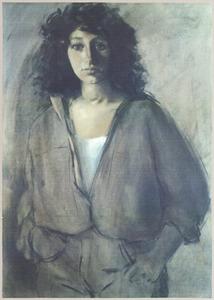 Portret van Alwine van Heemskerck