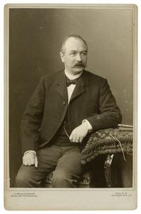 Portret van dhr. Lambertus Cornelis van Engelenburg (1849-1919)