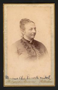 Portret van Christina Wilhelmina van Hall (1837-1921)