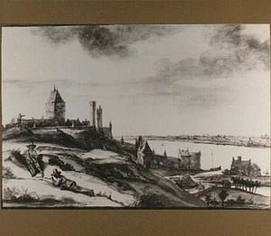 Nijmegen, vanuit het oosten gezien