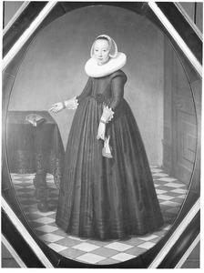Portret van Maria Poppen (1606- )