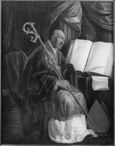 De H. Ambrosius,  een der Latijnse kerkvaders