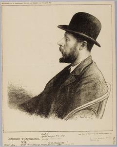 Portret van George Hendrik Breitner (1857-1923)