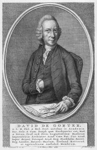 Portret van David de Gorter (1717-1783)
