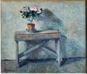 Azalea op tafel