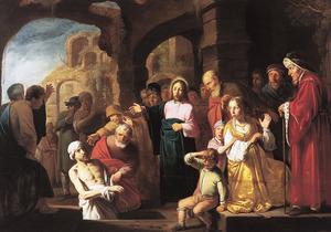 De verrrijzenis van Lazarus (Joh 11, 41-44)