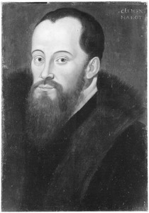 Portret van Clement Marot (1495-1544), Frans dichter