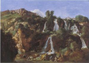 De watervallen van Tivoli