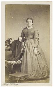 Portret van Maria Anna Canters (1839-1869)