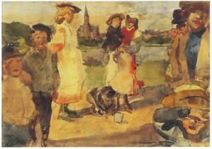 Kinderen in het Oosterpark