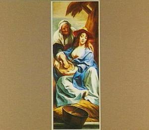 Ruth en Noömi (Ruth 4:7-10)