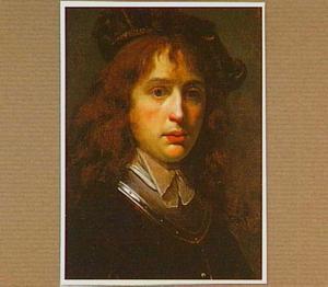 Portret van een jonge man met een baret