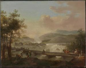 Waterval bij Hønefoss