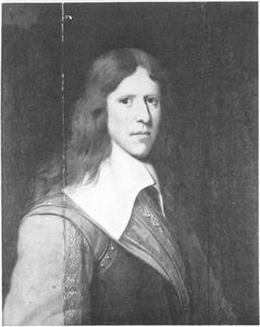 Portret van een jeugdige krijgsman