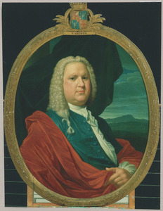 Portret van Willem Fabricius (1709-1749)