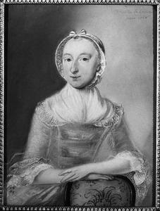 Portret van mogelijk Catharina Speciaal ( -1776)