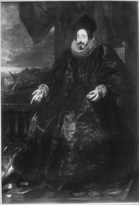 Portret van de diplomaat, admiraal en maecenas Giovanni Vincenzo Imperiale (1592-1648)