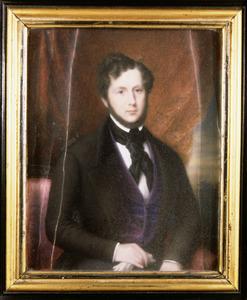 Portret van Rene Frederic Groeninx van Zoelen (1800-1859)