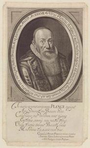 Portret van Petrus Plancius (1552-1622)