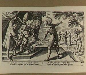Luther doet de mensen alle misbruik en kwaad zien