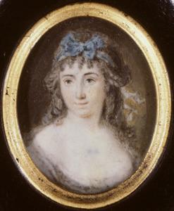 Portret van mogelijk Vincentia Catharina van Toulon (1769-1843)