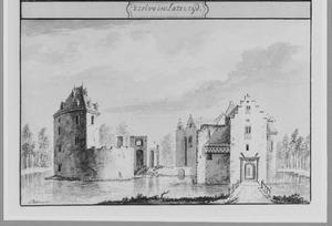 Voorzijde van kasteel Teylingen