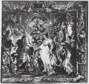 Het huwelijk van Zenobia en Odaenathus