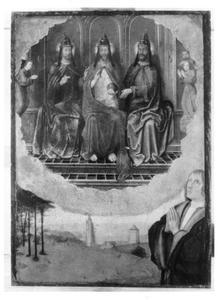 Heilige Drieëenheid met stichter