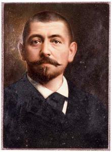 Portret van Johannes Marius Schout Velthuys (1851-1920)