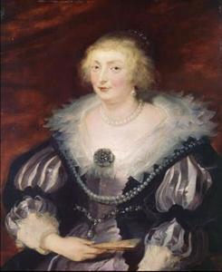 Portret van een vrouw (Katherine Manners, hertogin van Buckingham; 1603-1649?)