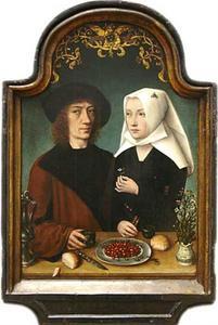 Portret van de kunstenaar en zijn vrouw