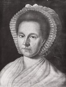 Portret van Geerhardina Groeneveld (1750-1831)