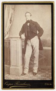 Portret van dhr. J. Bousquet ( -1888)