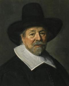Portret van een man,  mogelijk John Livingston (1603-1672)