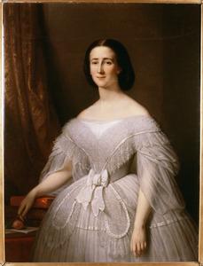 Portret van Agneta Cornelia Hugonia Boreel (1839-1924)