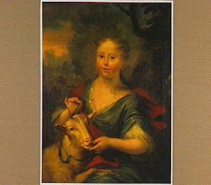Portret van Johanna Margaretha de Heer (1735-1806), dochter van Arend Maartenz de Heer en Anthonia van der Linden