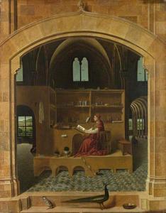 St.-Hieronymus in zijn studeervertrek