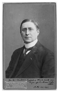 Portret van Theodorus Gijsbertus Maria Smits (1860-1919)