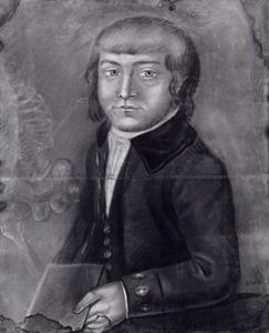 Portret van Benjamin van Senus (1766-1819)