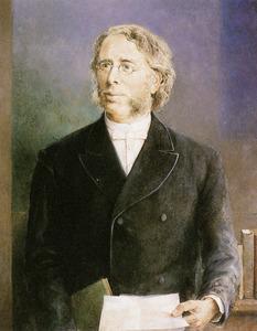 Portret van Philippus Jacobus Hoedemaker (1839-1910)