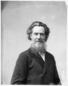 Portret van de kunstenaar Laurens Lodewijk Kleyn (1826-1909)