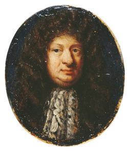Portret van Theodore Jacobsen (1633-?)