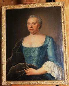 Portret van Barbara Elisabeth van Duren (1704-1768)