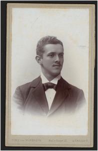 Portret van Alexander Joseph August Bake (1876-1925)