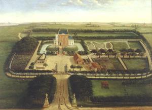 De borg Dijksterhuis bij Pieterburen