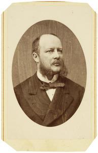 Portret van Arnout Cornelis Theodore Gevers Leuven (1830-1889)