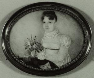 Portret van Elisabeth Aletta van der Burch (1788-1846)