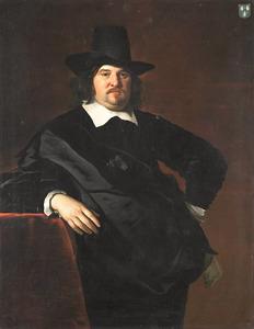 Portret van Abraham de Visscher