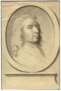 Portret van de kunstenaar Herman van der Mijn (1684-1741)